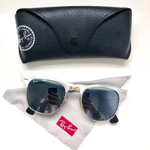 Ray Ban Clubmaster Aluminum RB3507